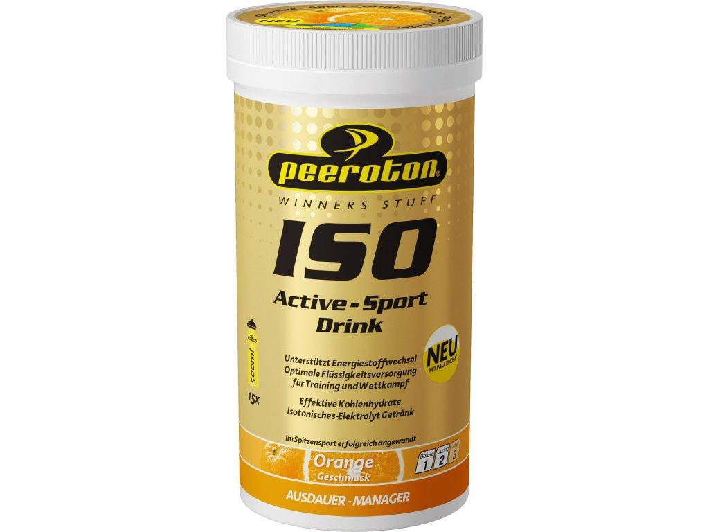 iso active sport drink hypotonicky napoj s prichutou pomaranc 30 62